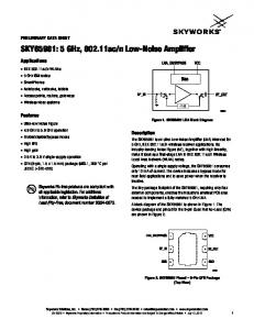 n Low-Noise Amplifier
