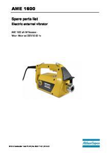 n MHNxxxxxx - Motor: Motor set 230V Hz