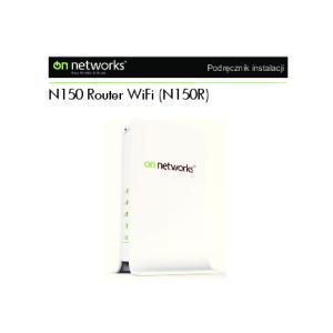 N150 Router WiFi (N150R)