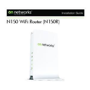 N150 WiFi Router (N150R)