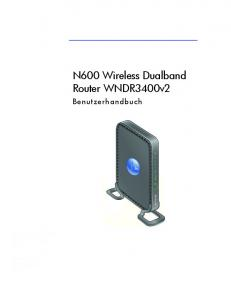 N600 Wireless Dualband Router WNDR3400v2