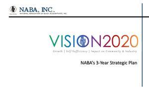 NABA, INC. NATIONAL ASSOCIATION OF BLACK ACCOUNTANTS, INC