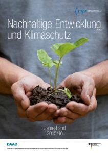 Nachhaltige Entwicklung und Klimaschutz