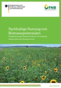 Nachhaltige Nutzung von Biomassepotenzialen
