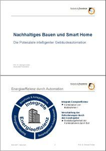 Nachhaltiges Bauen und Smart Home