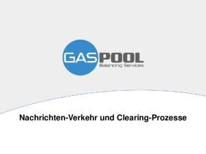 Nachrichten-Verkehr und Clearing-Prozesse