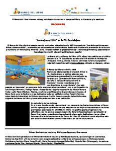 NACIONALES. Los mejores 2009 en la FIL Guadalajara