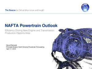 NAFTA Powertrain Outlook