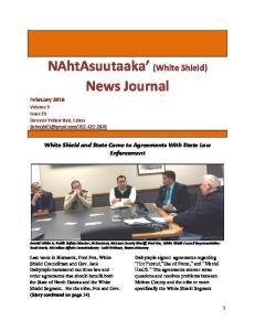 NAhtAsuutaaka (White Shield) News Journal