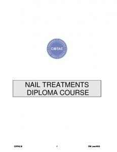 NAIL TREATMENTS DIPLOMA COURSE