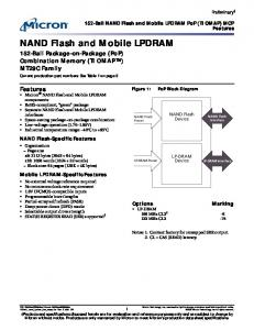NAND Flash and Mobile LPDRAM