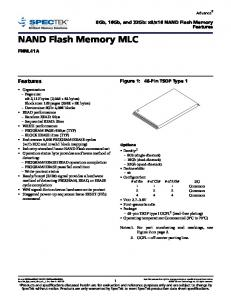 NAND Flash Memory MLC