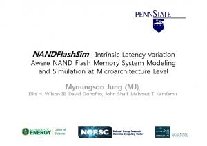 NANDFlashSim : Intrinsic Latency Variation Aware NAND Flash Memory System Modeling