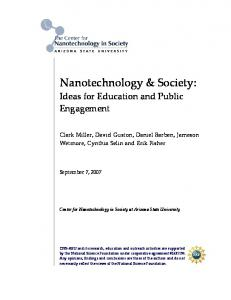 Nanotechnology & Society:
