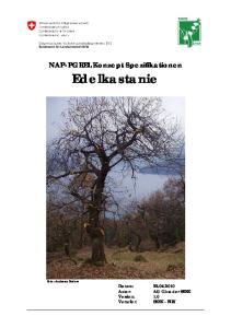 NAP-PGREL Konzept Spezifikationen Edelkastanie