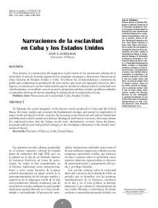 Narraciones de la esclavitud en Cuba y los Estados Unidos
