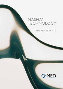 nasha TeChnOLOGy The key benefits