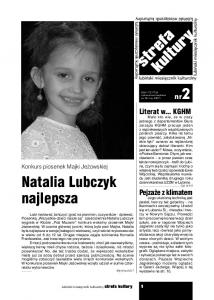 Natalia Lubczyk najlepsza. nr2