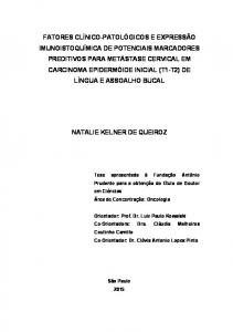 NATALIE KELNER DE QUEIROZ