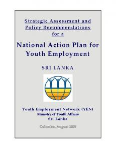 National Action Plan for Youth Employment