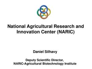 National Agricultural Research and Innovation Center (NARIC)
