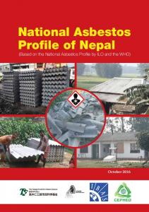 National Asbestos Profile of Nepal (Based on the National Asbestos Profile by ILO and the WHO)