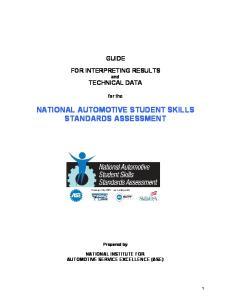 NATIONAL AUTOMOTIVE STUDENT SKILLS STANDARDS ASSESSMENT