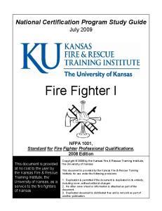 National Certification Program Study Guide
