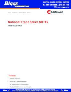 National Crane Series NBT45