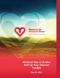 National Day of Action: Roll Up Your Sleeves! Toolkit