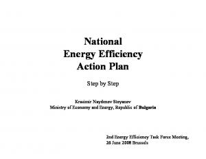 National Energy Efficiency Action Plan