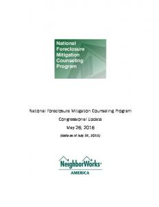 National Foreclosure Mitigation Counseling Program