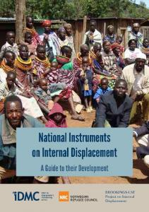 National Instruments on Internal Displacement. A Guide to their Development