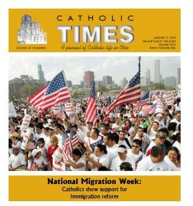 National Migration Week: Catholics show support for immigration reform