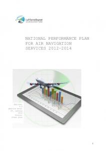 NATIONAL PERFORMANCE PLAN FOR AIR NAVIGATION SERVICES