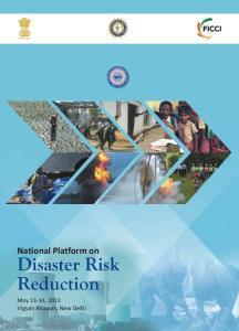 National Platform on Disaster Risk Reduction