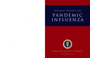 National Strategy for. pandemic influenza. homeland security council