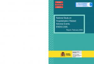 National Study on Hospitalisation-Related Adverse Events. ENEAS 2005