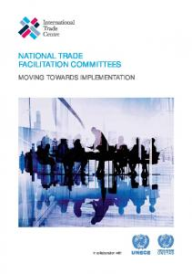 NATIONAL TRADE FACILITATION COMMITTEES