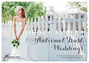 National Trust Weddings. For more information about our venues visit