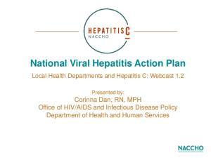 National Viral Hepatitis Action Plan