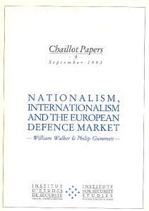 NATIONALISM, INTERNATIONALISM AND THE EUROPEAN DEFENCE MARKET
