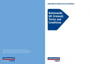 Nationwide UK (Ireland) Terms and Conditions