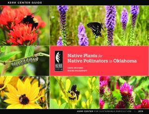 Native Plants for Native Pollinators in Oklahoma