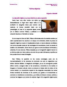 Nativos digitales. Alejandro Piscitelli