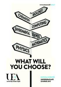 natsci WHAT WILL YOU CHOOSE?
