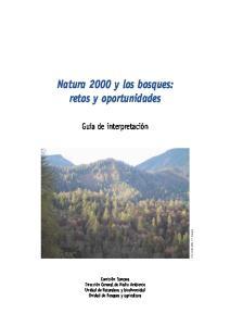 Natura 2000 y los bosques: retos y oportunidades