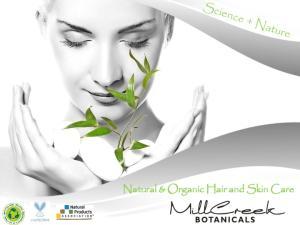 Natural & Organic Hair and Skin Care