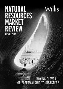 NATURAL RESOURCES MARKET REVIEW