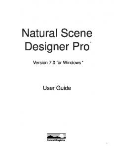 Natural Scene Designer Pro